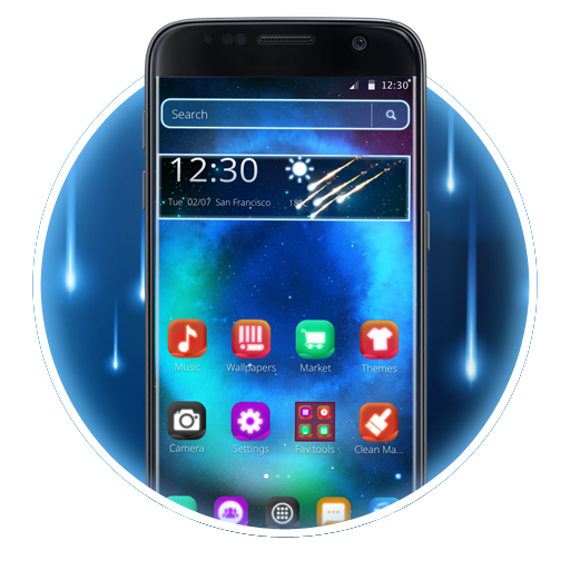 Galaxy Theme for S8