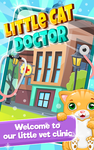 Little Cat Doctor:Pet Vet Game  screenshots 1