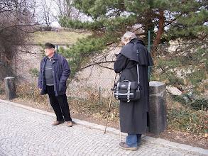 Photo: Vstupujeme do památného Vyšehradu