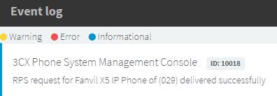 Удаленная сеть: Автонастройка Fanvil X series через RPS (remote provisioning server) сервер