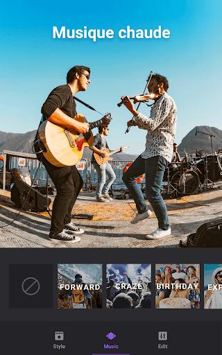 Créateur vidéo de photos avec musique screenshot 5