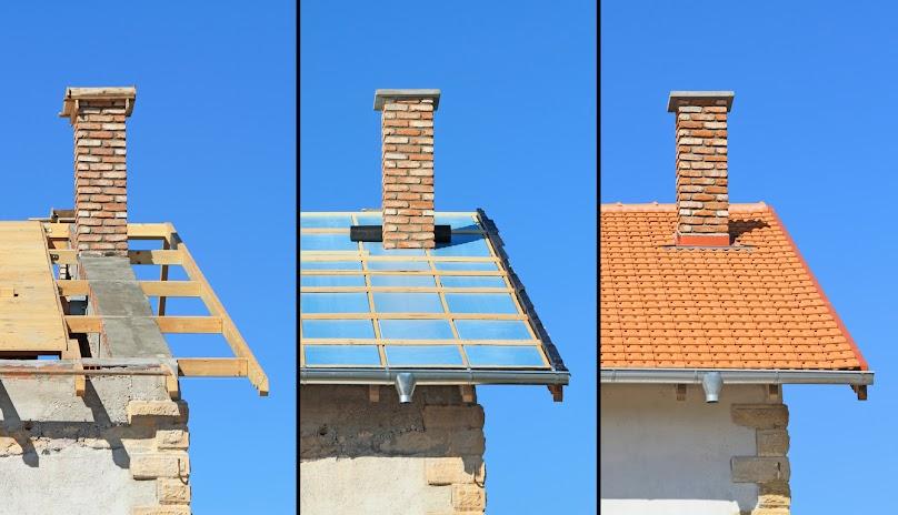 Budowa dachu dwuspadowego