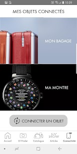Louis Vuitton app Capture d'écran