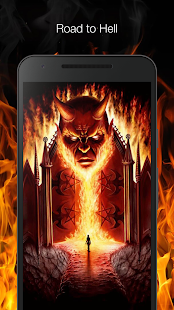 Road to hell live wallpaper - náhled