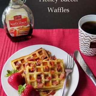 Honey Bacon Waffles.