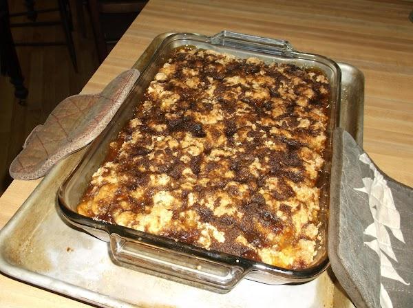 Bake at 350 degrees for 1 hour.