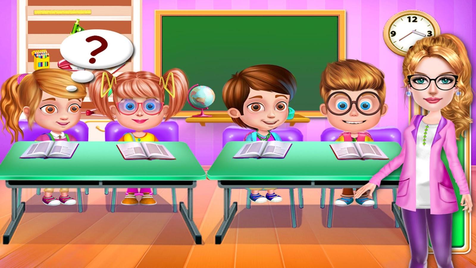 My Teacher Clroom Play Screenshot