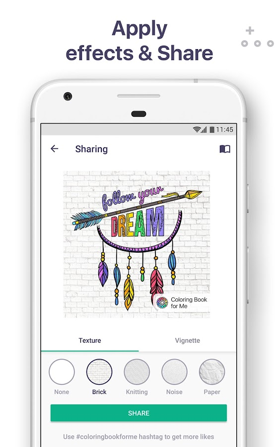coloring book for me mandala screenshot
