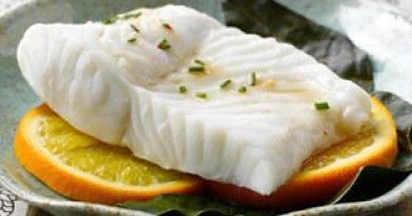 Citrus Steamed Alaska Halibut Recipe