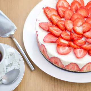 Vanilla Strawberry Cheesecake Recipes