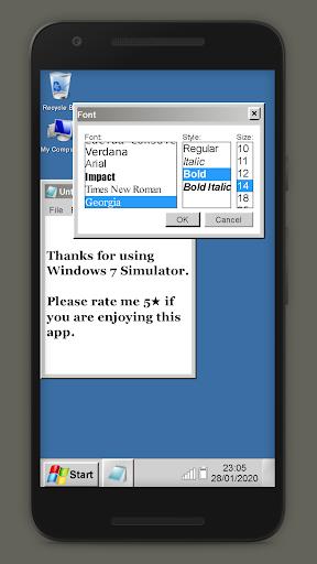 Win7 Simu 1.2 screenshots 8