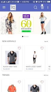 MageNative Mobile App for Shopify - náhled
