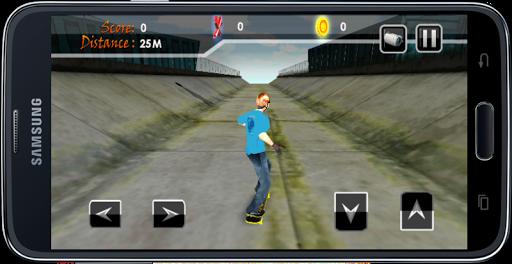Speeding 3D Skateboard Games