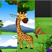 Sliding Puzzle Animals 2