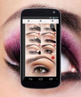 App eyes makeup tutorial steps APK for Windows Phone