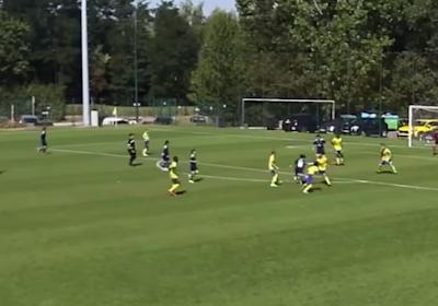🎥 Superbes buts en équipes de jeunes à Anderlecht, Rayane Bounida fait rêver les fans