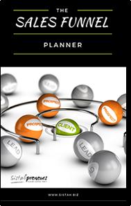 Bonus Sales Funnel Planner with your enrollment