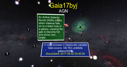 Gaia Alerts VR for PC