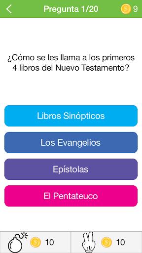 Cuestionario Biblico