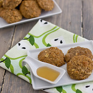 Apple Cinnamon & Quinoa Muffin Top Cookies.