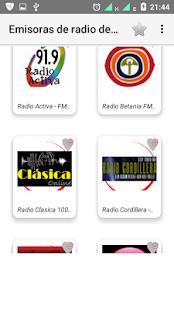 Radios FM Bolivia - náhled