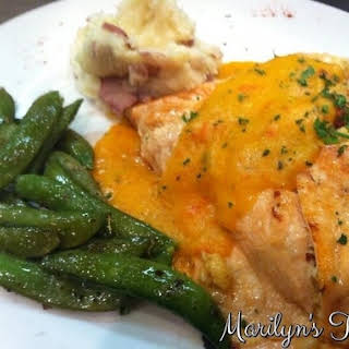 Baked Salmon With Crab Meat Recipes.