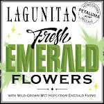 Lagunitas Fresh Emerald Flowers