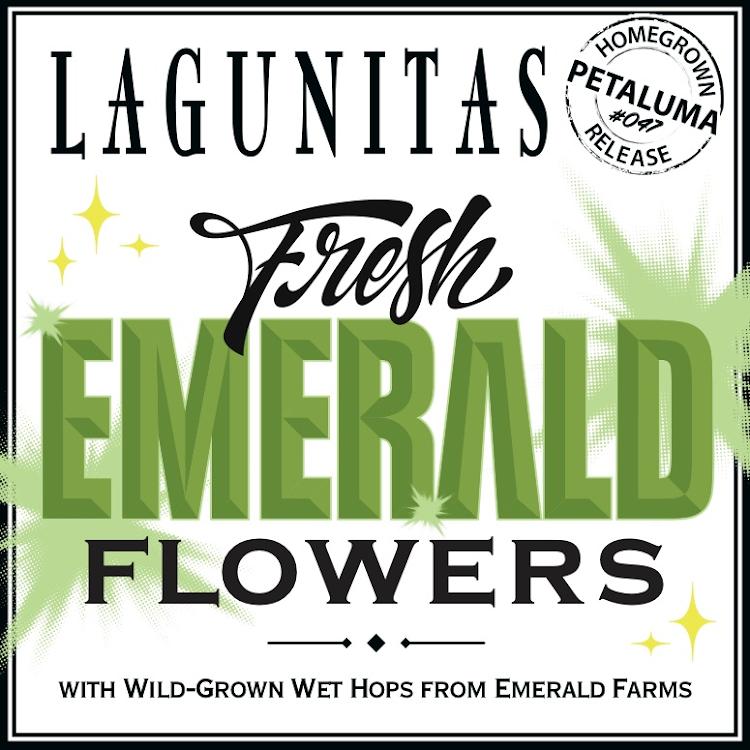 Logo of Lagunitas Fresh Emerald Flowers
