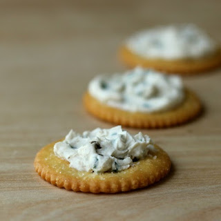 Chive And Black Garlic Cream Cheese Spread