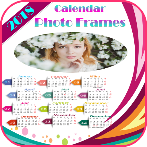 Calendar Photo frams 2018