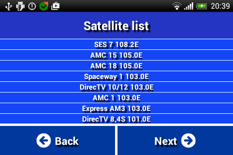 Satfinder 2019 1.0 screenshots 1