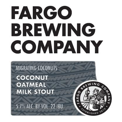 Logo of Fargo Migrating Coconuts