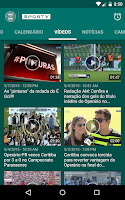 Screenshot of Coritiba SporTV