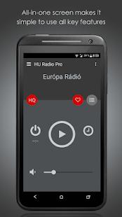 HU Radio Pro - náhled