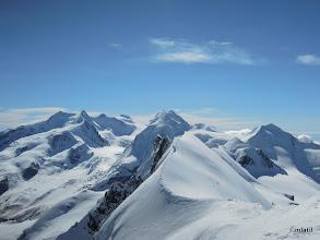 Photo: Monte Rosa a Lyskamm