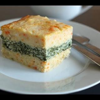Potato Casserole With Spinach
