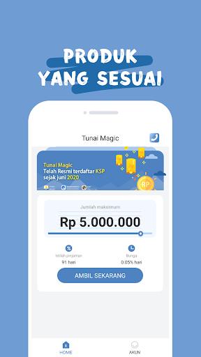 Tunai Magic Pinjaman Uang Tunai Dana Cash  screenshots 2
