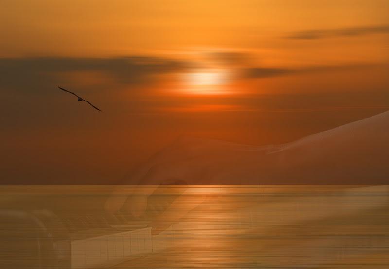 la melodia del mare al tramonto di angelo27