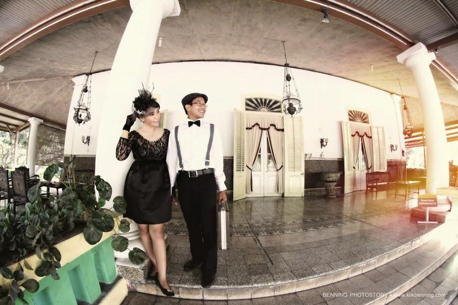 Pre wedding vintage di solo