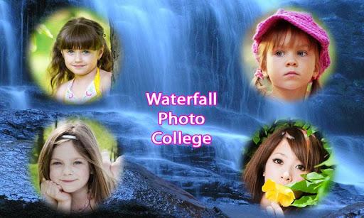 攝影必備免費app推薦|Waterfall photo collage frames線上免付費app下載|3C達人阿輝的APP