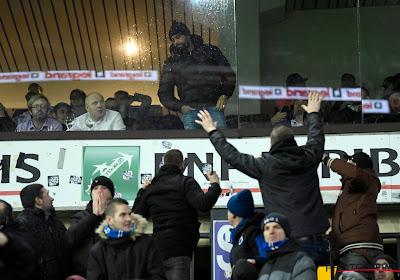 Anthony Vanden Borre nargue les supporters du FC Bruges