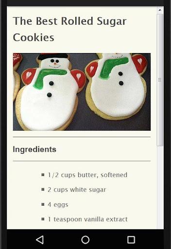 Holiday Party Recipes screenshot 3