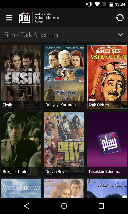 Digiturk Play Yurtdışı- screenshot