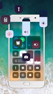 IOS 11 Control Center & IOS 11 Theme - náhled