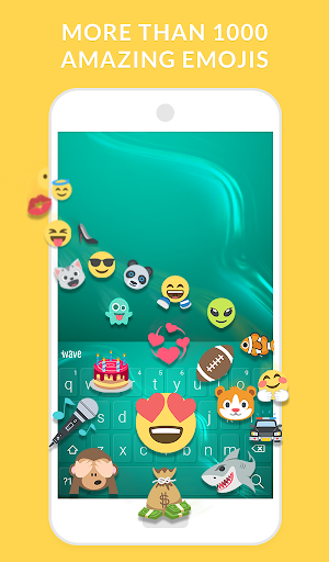 Wave Keyboard + Animated Themes, Emoji and GIFs for PC