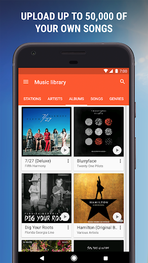 Screenshot 4 for Google Music's Android app'