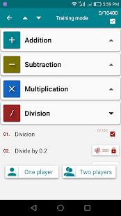 Math Skills apk screenshot 6