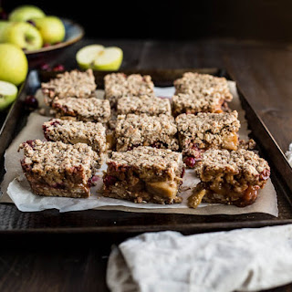 Gluten-Free Apple Cranberry Crumble Bars