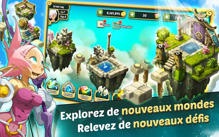 android Wakfu Raiders Screenshot 2