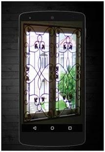Trellis okno - náhled